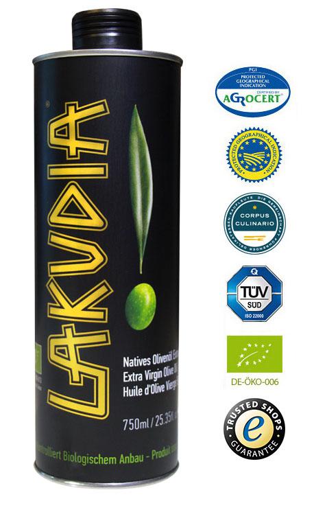 Griechisches BIO Feinschmecker Olivenöl